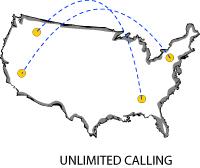 unlimited calling - World Access Communications - 800 call forwarding & 800 international forwarding